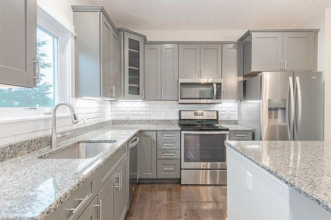 New kitchen construction